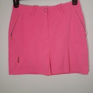 DKNY pink golf skorts size 4